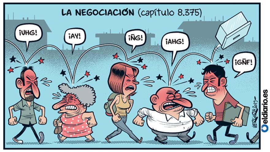 La negociación (capítulo 8.375)