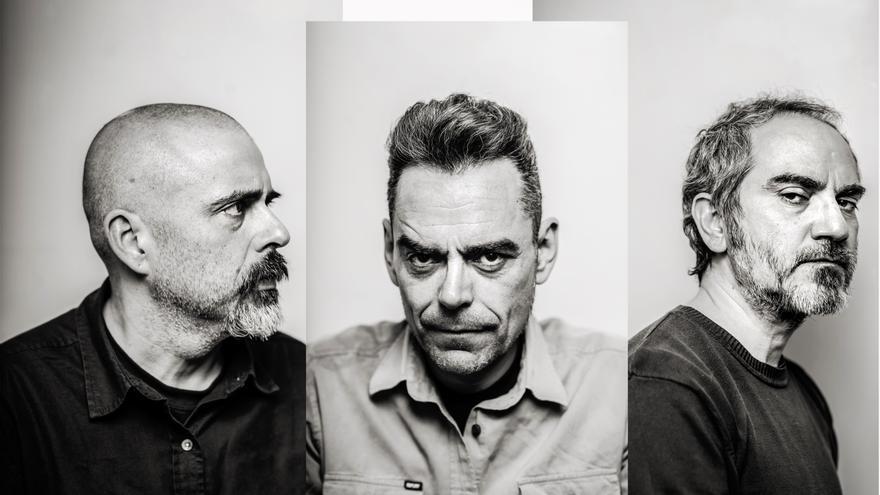 La formación de Chucho, con Fernando Alfaro, Juan Carlos Rodríguez y Javier Fernández / I*M Records