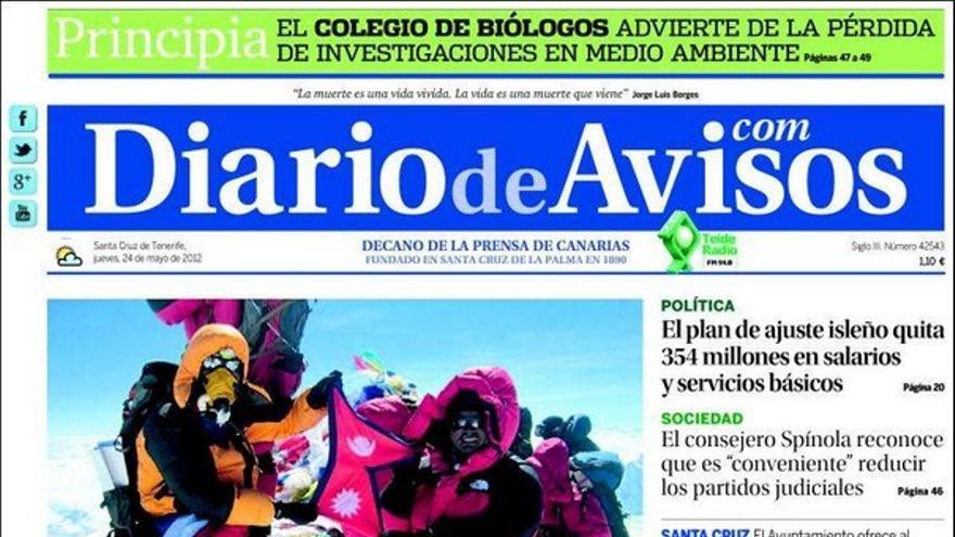De las portadas del día (24/05/2012) #3