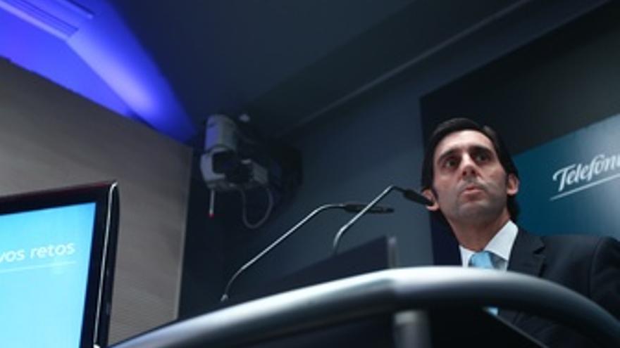 El Presidente De Telefónica Europa, José María Álvarez Pallete