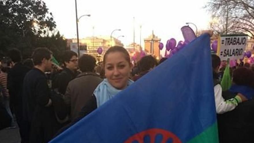 Josefa Fernández Camacho, coordinadora del Programa Calí por la igualdad de las mujeres gitanas