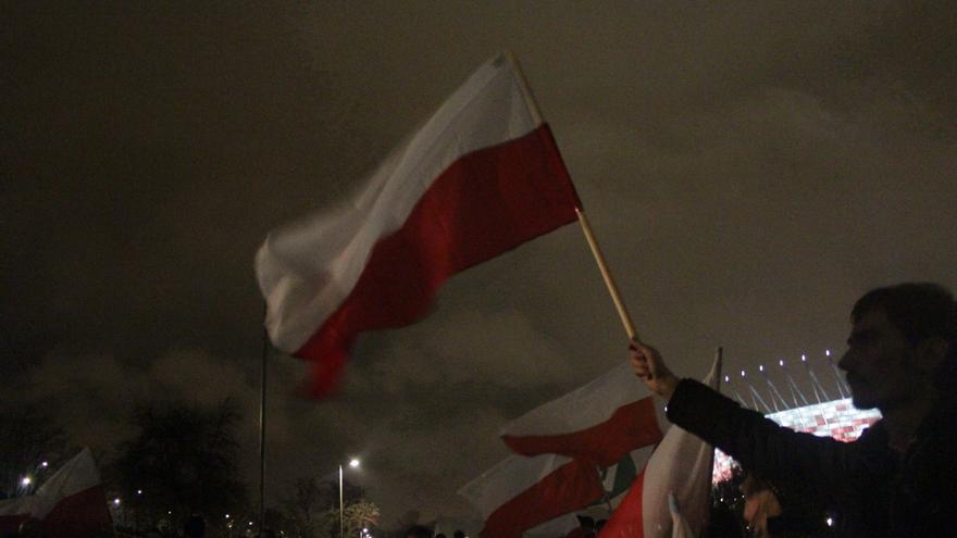 """""""Marcha Patrótica"""" en Varsovia. Este año reunió a más de 70.000 personas / Marta Alemany"""