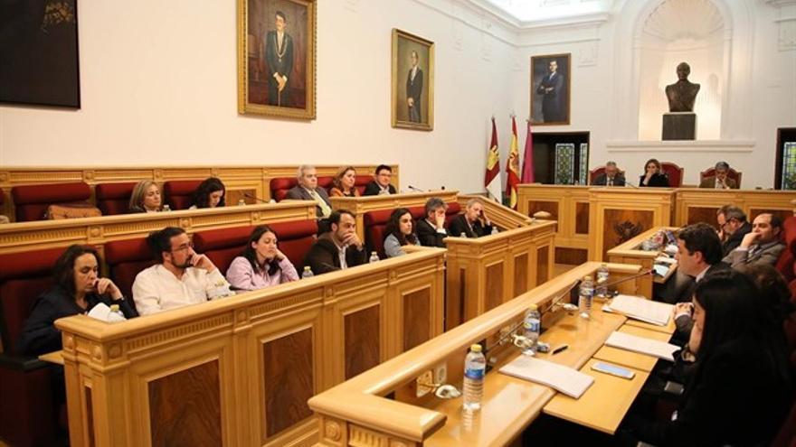 Pleno en el Ayuntamiento de Toledo. FOTO: Europa Press