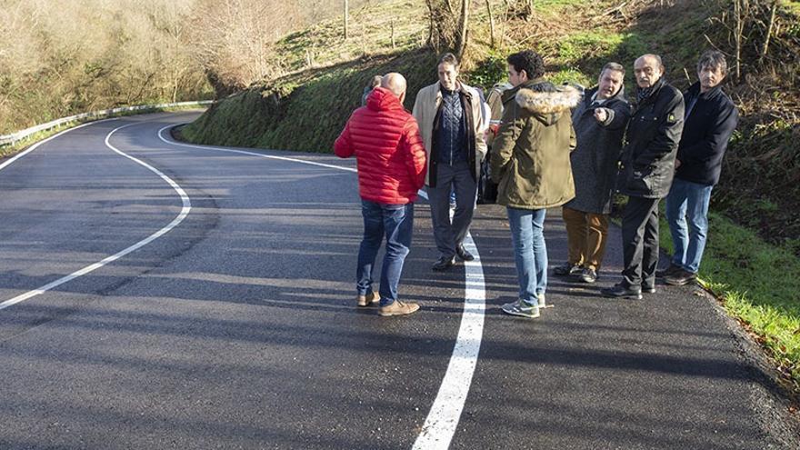 Obras Públicas elimina un punto negro en la carretera entre Cartes y Bedicó