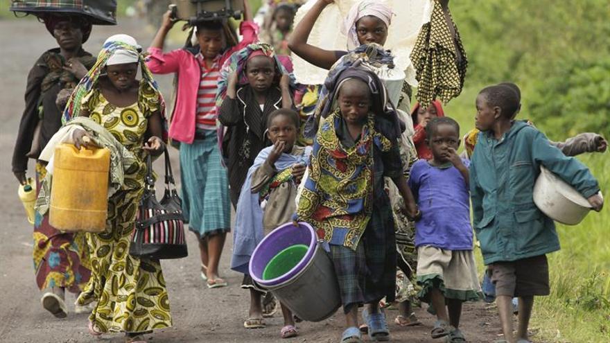 El enfrentamiento entre el Congo y exrebeldes causa 13.000 desplazamientos