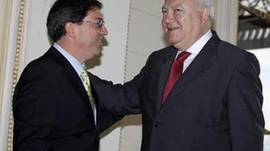 Moratinos y Bruno Rodríguez