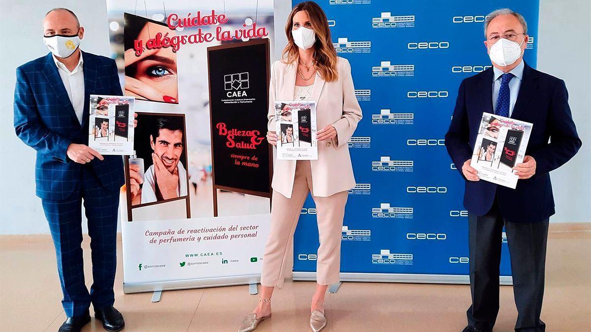 Presentación de la campaña del sector de las perfumerías.