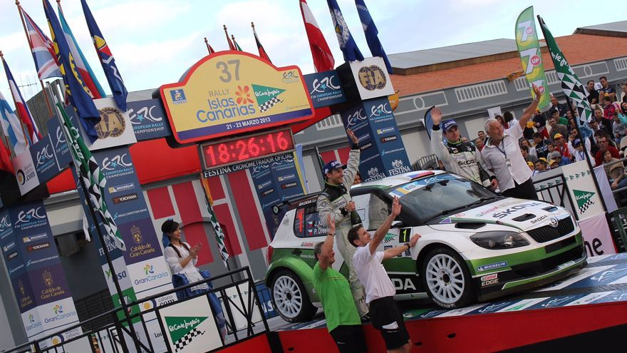 Imagen de la edición 37 del Rally Islas Canarias.