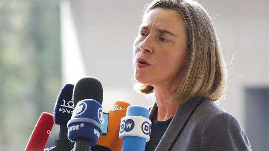 Mogherini ve irreal que Siria vuelva a la situación política de antes de la guerra