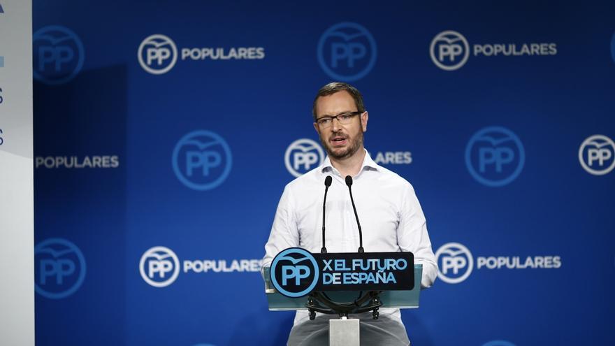 """Maroto defiende que el PP lidere la opción constitucionalista y critica que C's se la tome """"a broma"""""""