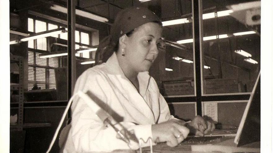 Mari Carmen González, una de las tejedoras de Telesincro
