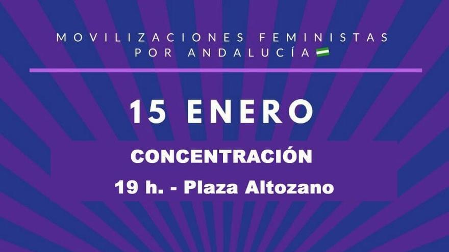 Concentracion Red Feminista Albacete