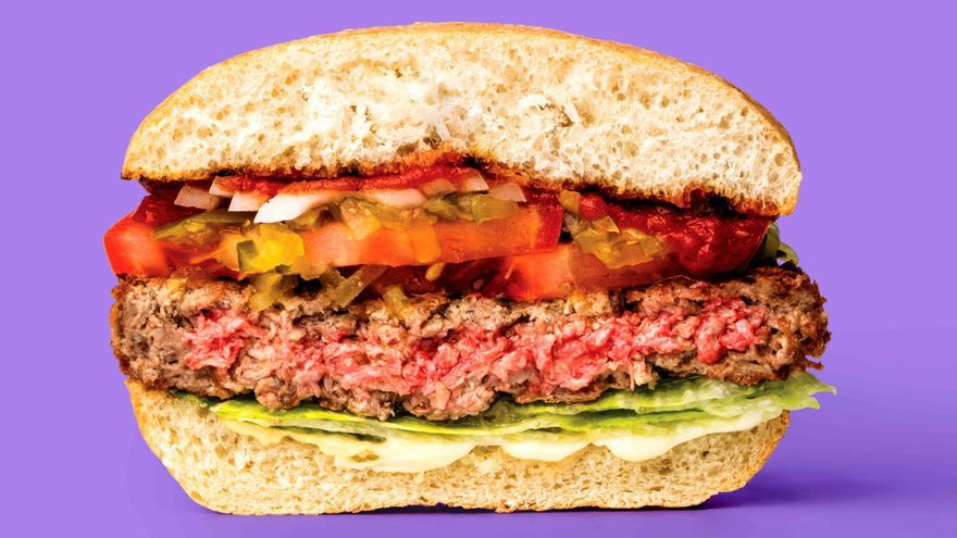Levaduras genéticamente modificadas producen el ingrediente secreto de las hamburguesas 'imposibles'