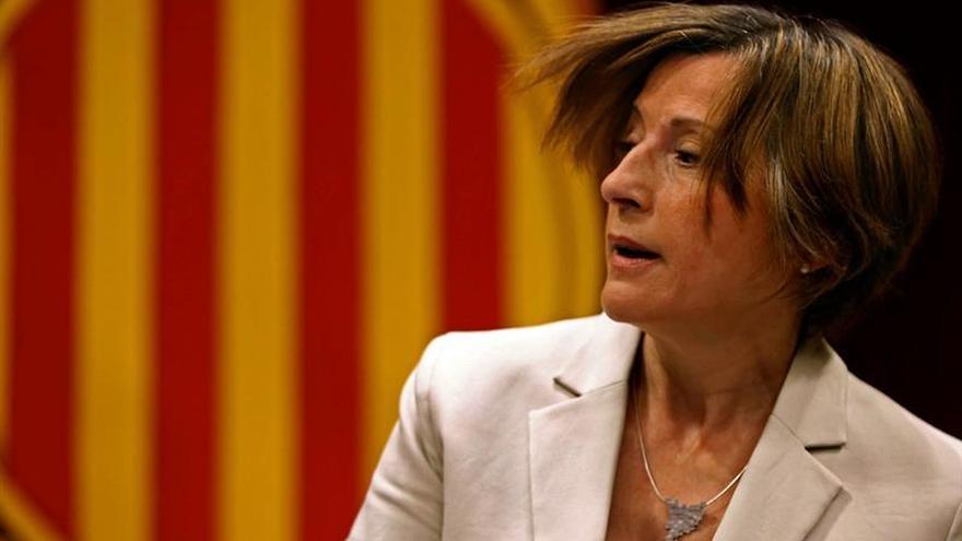 El Constitucional pide al fiscal que actúe contra Forcadell por desobedecerle