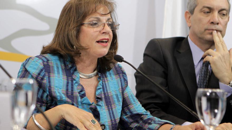 Ministra propone a los argentinos colaborar en la lucha contra la inseguridad