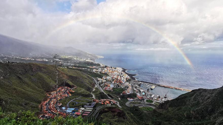Lluvias este sábado en La Palma