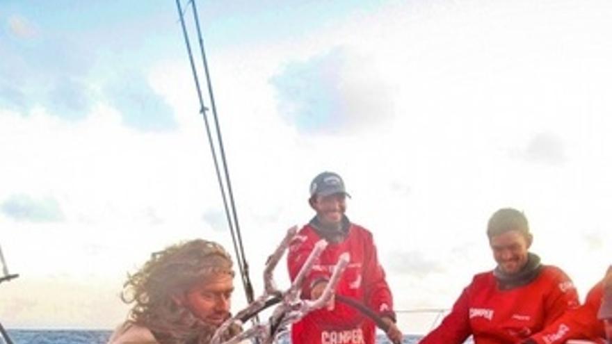 Vela VOR Barco Camper, Visita Rey Neptuno