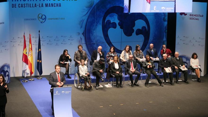 Entrega de los II Reconocimientos a la Iniciativa Social / JCCM