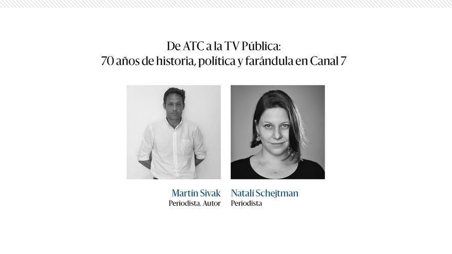 Charla de ATC  a la TV Pública