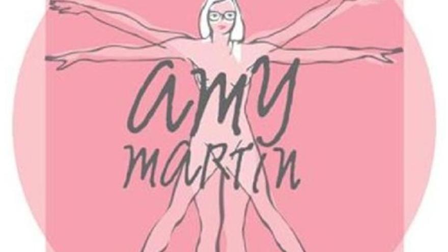 Logo de 'Amy Martin', registrado en marzo de 2011 por Storylines Projects, S.L.