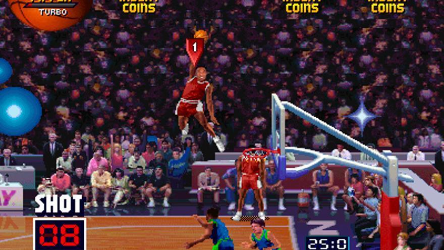 Así era como Pippen machacaba el aro en el NBA Jam (Foto: Wikipedia.org)