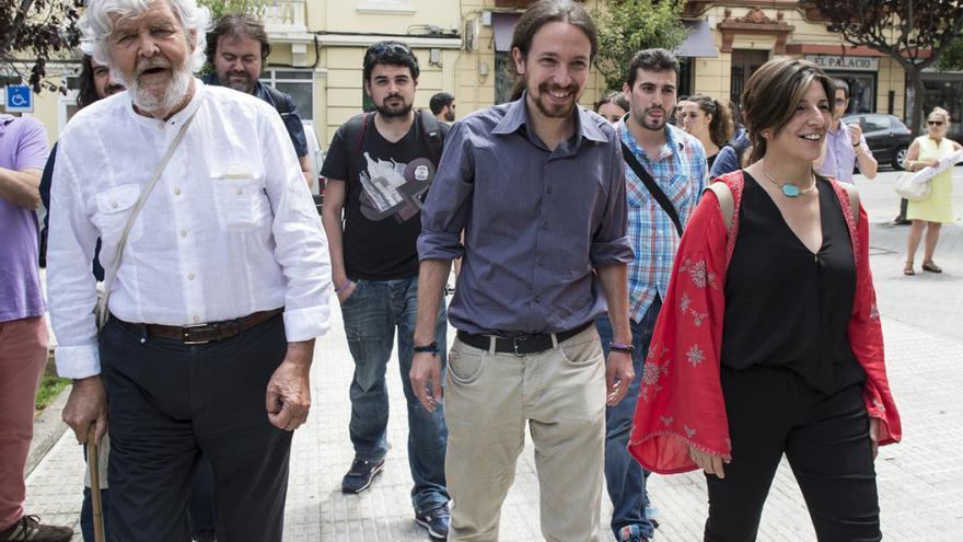 Beiras, Iglesias y Díaz, en una imagen de archivo