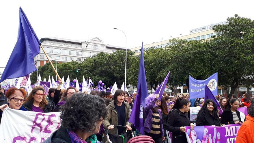 Manifestación 8M A Coruña
