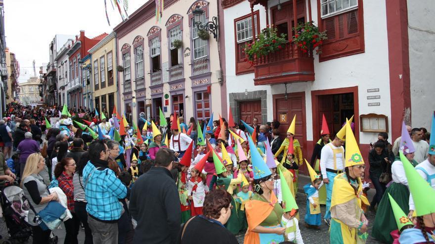 Imagen de archivo de la Cabalgata  Anunciadora del Carnaval capitalino.