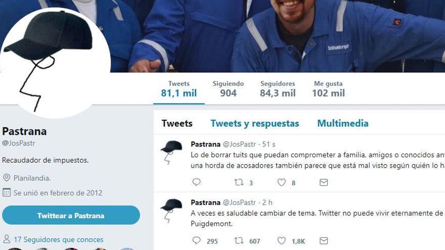 Pastrana borra cerca de 600 tuits de su cuenta