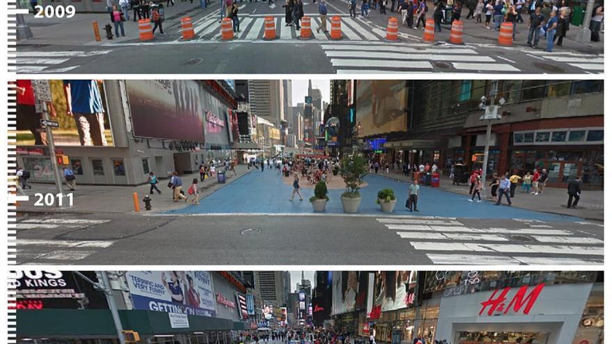 Times Square. Imagen extraída de urb-b-i.com