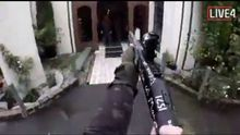 Tarrant, momentos antes de comenzar el ataque en Christchurch