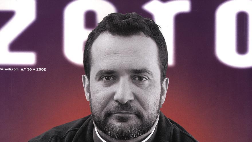 Portada de la revista 'Zero' con el sacerdote José Mantero