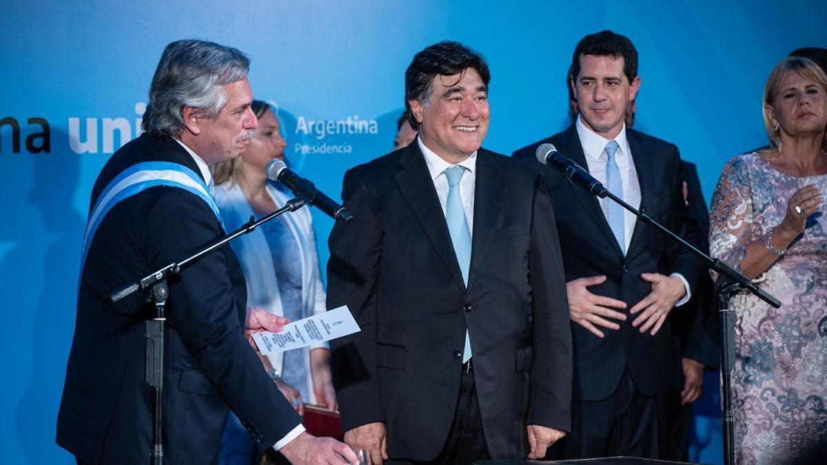 Zannini juró en diciembre de 2019 como procurador del Tesoro, el jefe de los abogados del Estado.