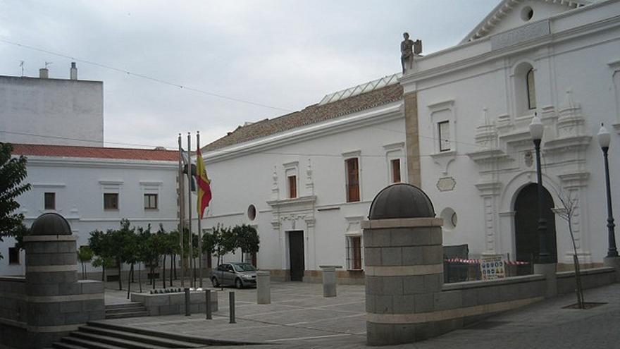 Vista general de la Asamblea Extremadura / Asamblea