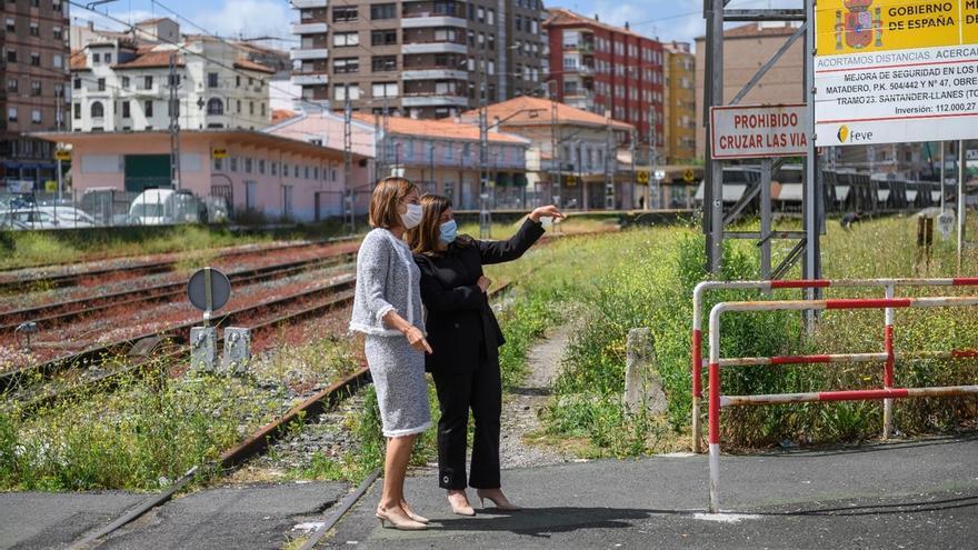 Buruaga pide al Gobierno que explique cómo y cuándo se va a retomar el soterramiento ferroviario en Torrelavega