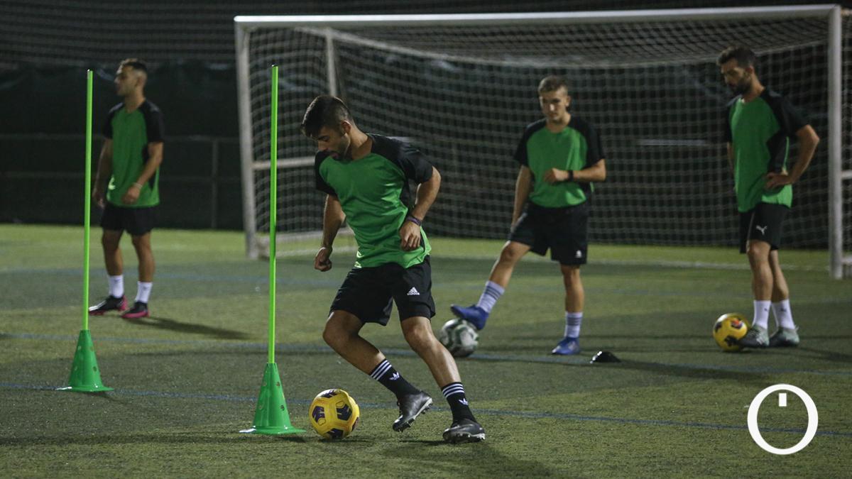 Entrenamiento del Córdoba CF SAD