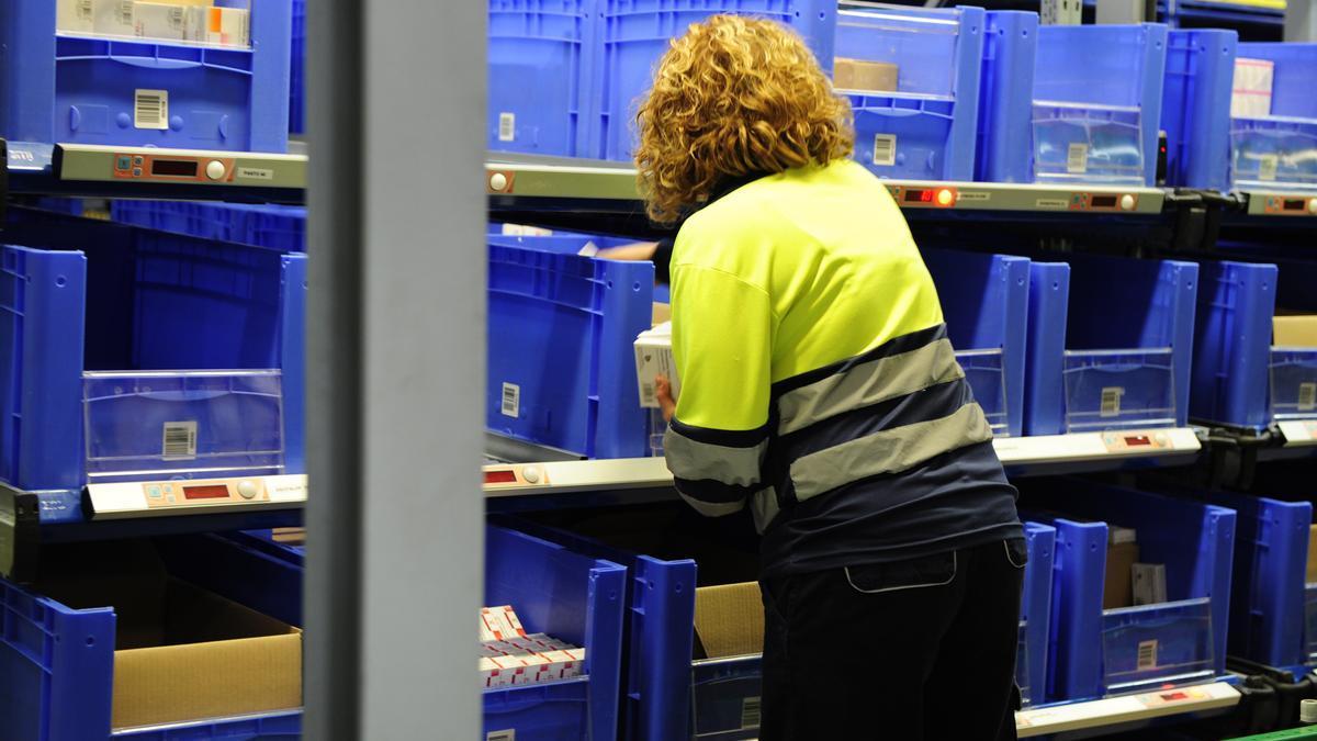 Imagen de archivo de una trabajadora.