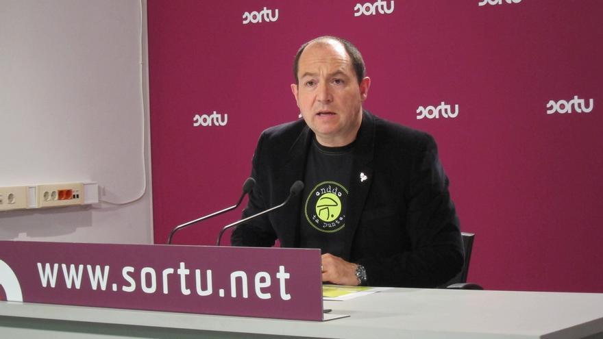 """Sortu se """"reafirma"""" en el mensaje de Arraiz sobre la Guardia Civil que es """"nociva y debe desaparecer de nuestras vidas"""""""