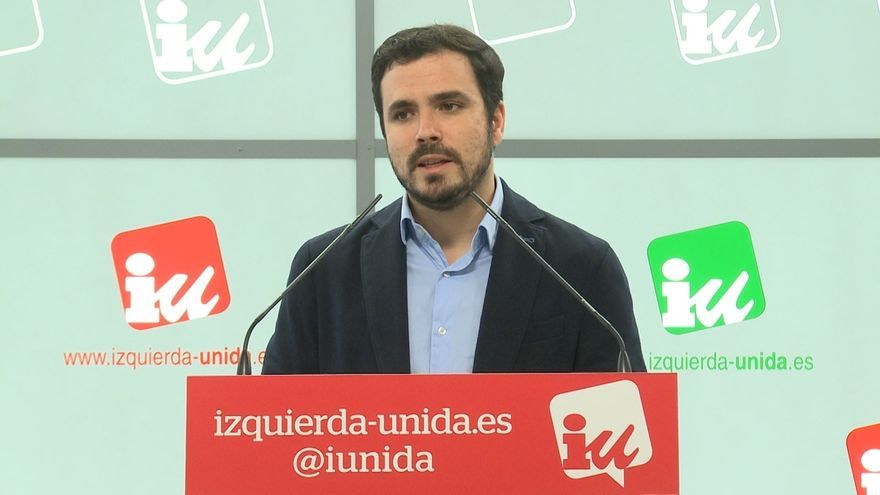 """Garzón discrepa de Podemos y apuesta por las elecciones en Murcia antes que un acuerdo """"precipitado"""" con el PSOE"""