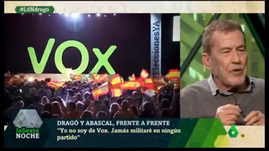 El escritor Fernando Sánchez Dragó, en 'La Sexta'