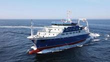 El buque escuela pesquero 'Intermares' del Ministerio de Agricultura, Pesca y Alimentación.