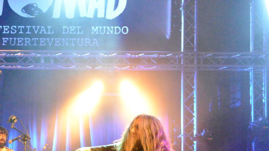 Actuación de Arizona Baby en el Womad Fuerteventura 2014   Iago Otero Paz