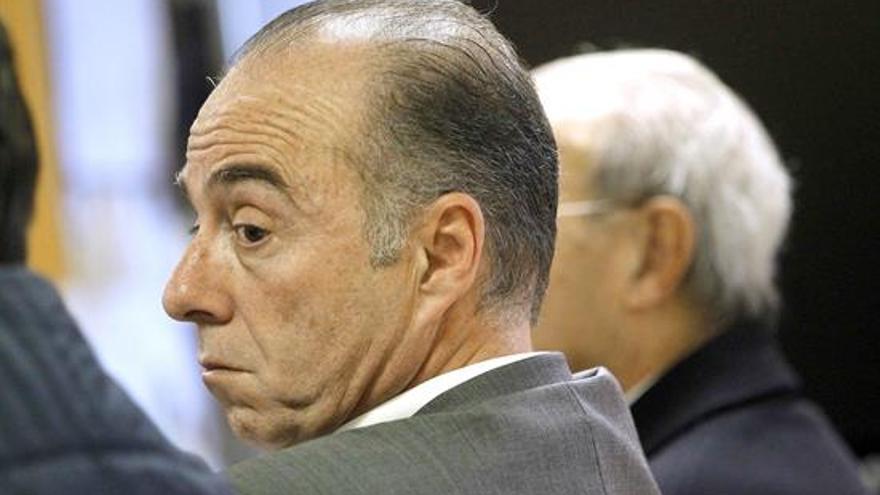 Miguel Zerolo, en la última sesión del juicio