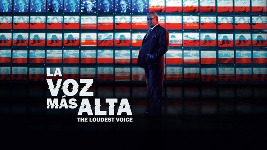 Cartel promocional de 'La voz más alta'.