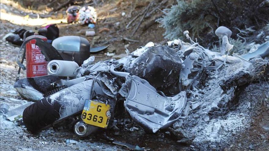 Mueren dos ocupantes de una moto al chocar con un cami n - Jefatura de trafico malaga ...