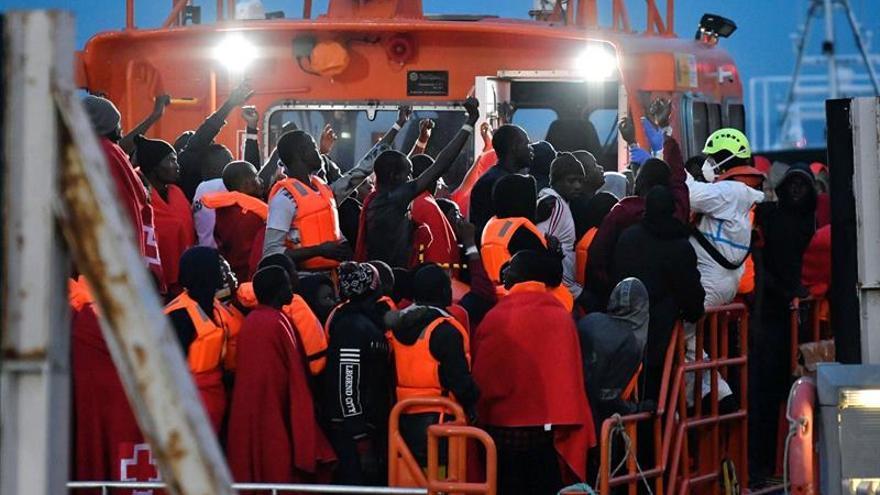 Rescatados más de 700 inmigrantes en el mar de Alborán