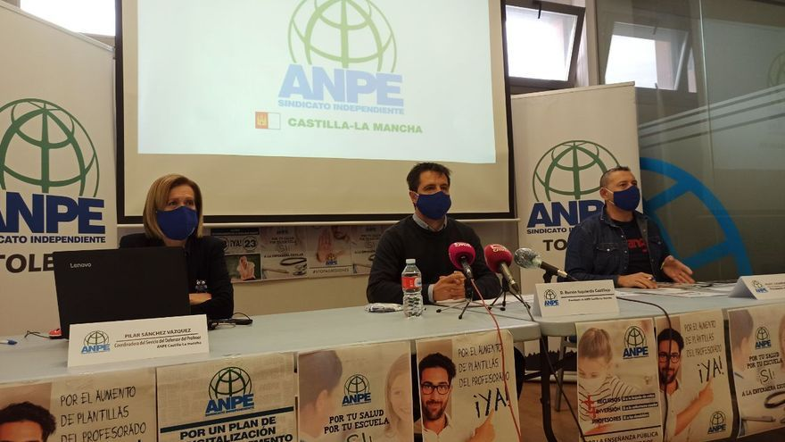 """ANPE exige a Educación que """"no mienta"""" con los docentes contratados y que asuma la instalación de purificadores de aire"""