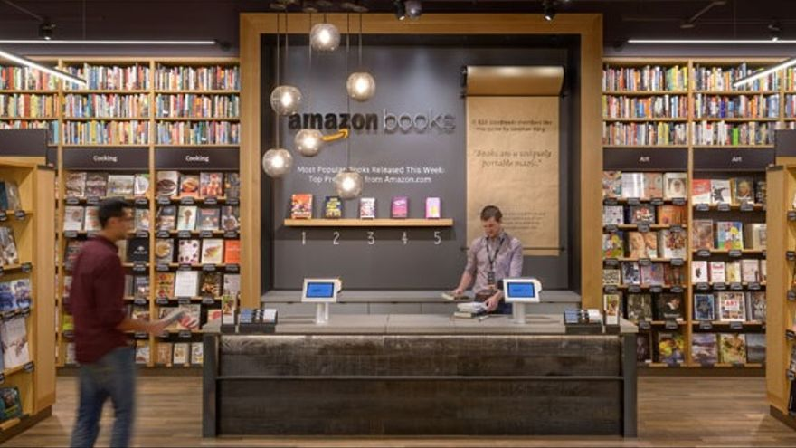 Amazon Books de Seattle. Foto: Amazon