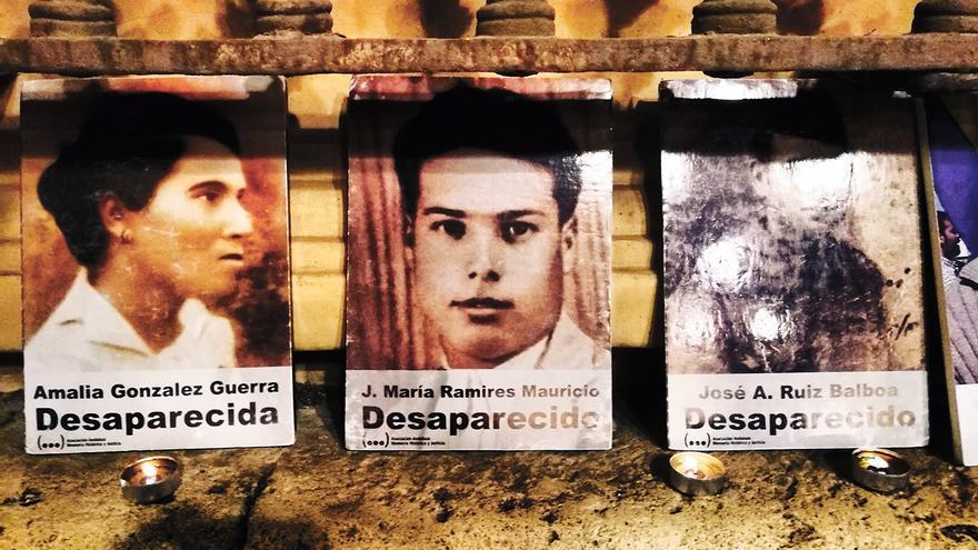 Víctimas del franquismo.   JUAN MIGUEL BAQUERO