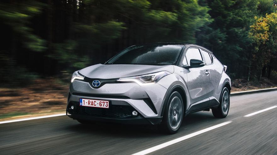 El nuevo Toyota C-HR.